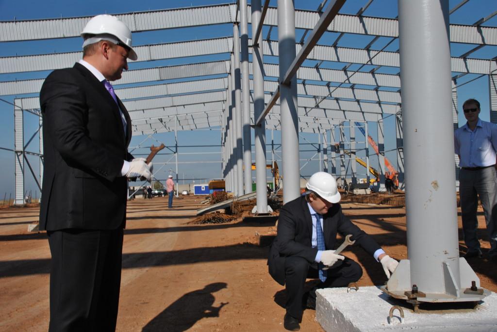 Официальное открытие строительства мусороперерабатывающего завода
