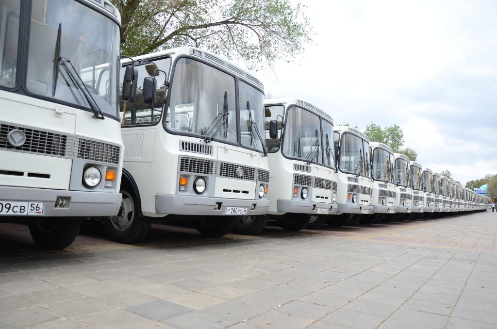 Новые автобусы для города