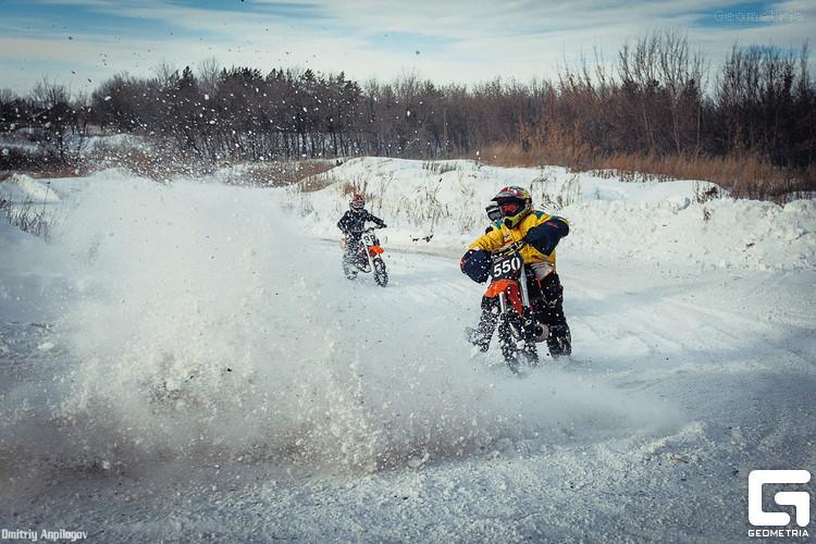 Зимний мотокросс в Оренбурге 03