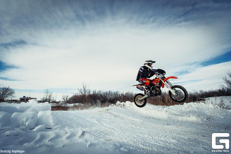 Зимний мотокросс в Оренбурге 04