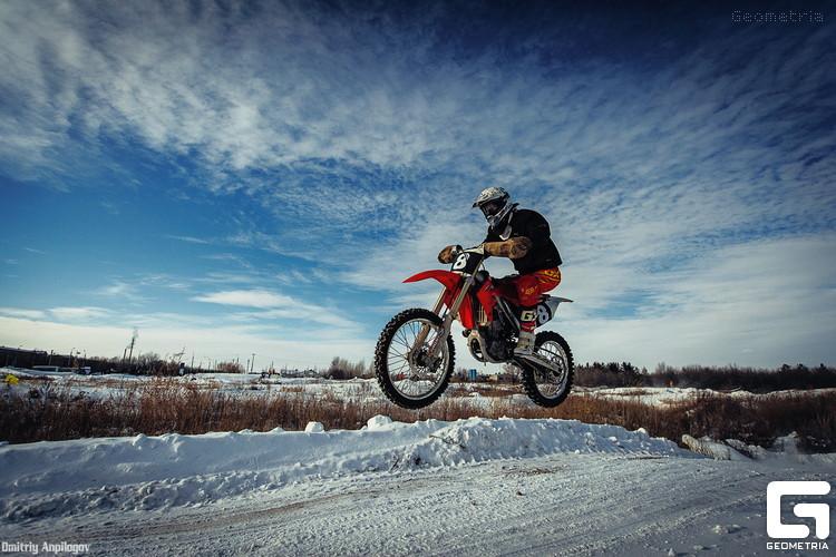 Зимний мотокросс в Оренбурге 05
