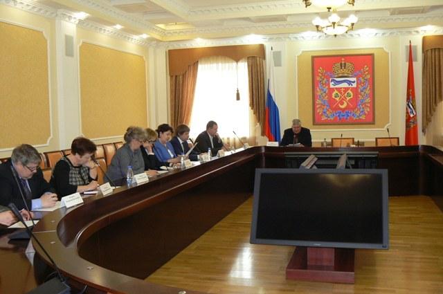 В Правительстве области состоялось заседание Экологического совета