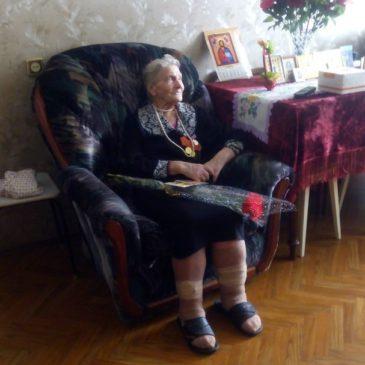 Ветеран Великой Отечественной Войны сегодня принимала гостей
