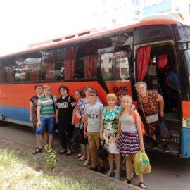 Сорок человек посетили Свято-Троицкую Симеонову Обитель Милосердия