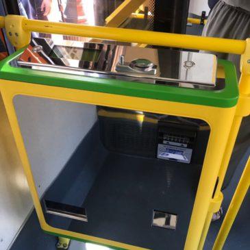 В Оренбургских автобусах могут появиться автоматы для оплаты проезда