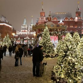 Москва поражает своей красотой